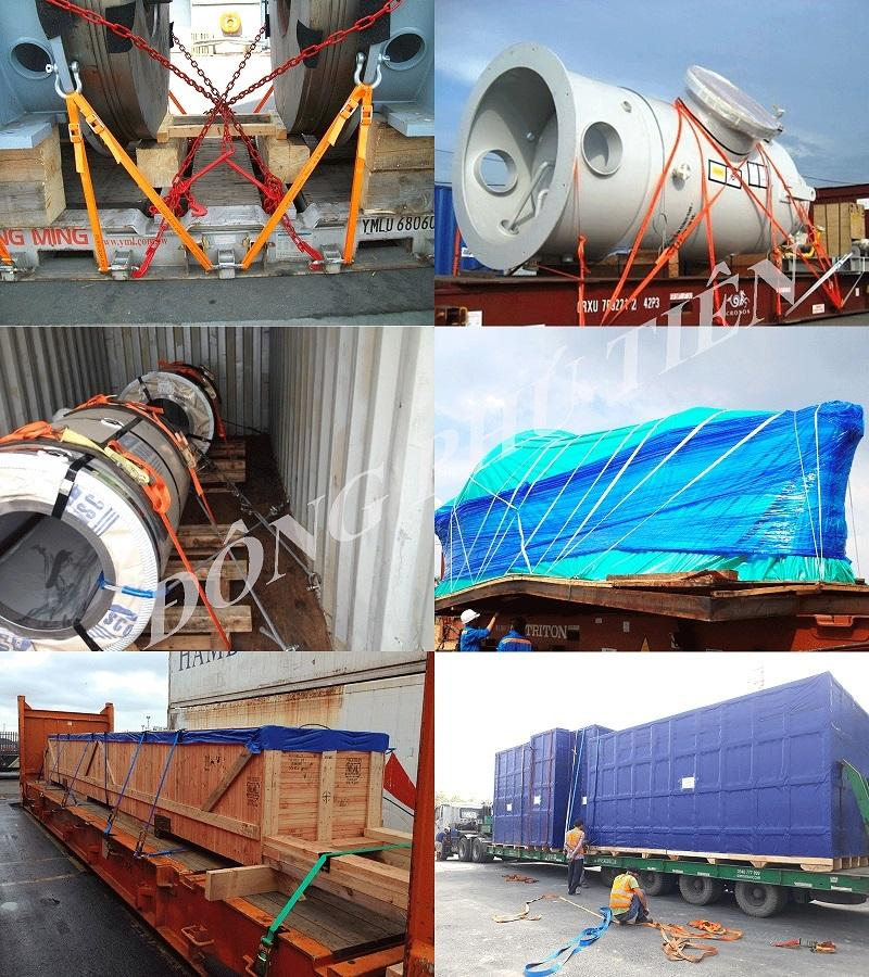 Dịch vụ đóng hàng và gia cố hàng hóa trên container