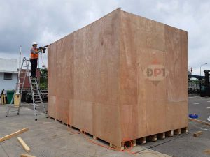 đóng thùng gỗ cho máy móc