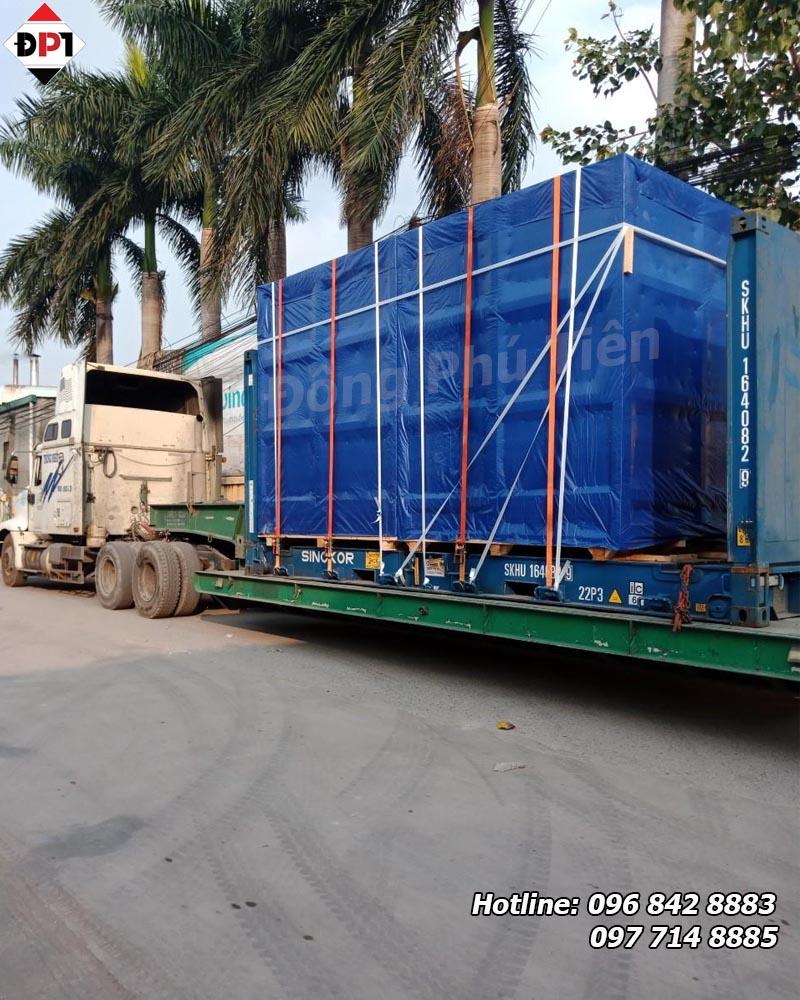 gia cố hàng hóa trên container