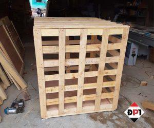 thùng gỗ pallet đóng hàng xuất khẩu