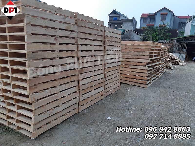 Dịch vụ đóng pallet gỗ giá rẻ tại Đông Phú Tiên