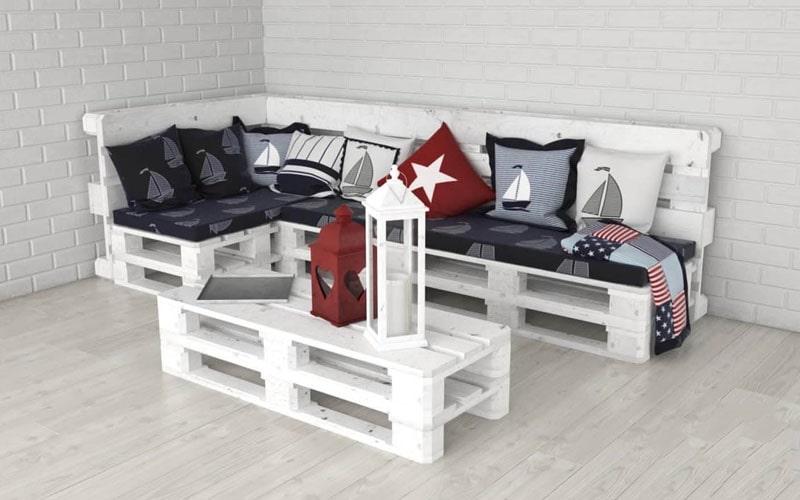 cách đóng bàn ghế bằng gỗ pallet