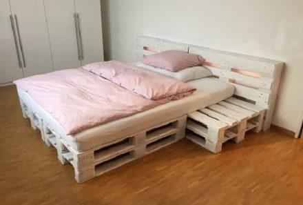 Hướng dẫn làm giường bằng gỗ pallet đơn giản đẹp nhất