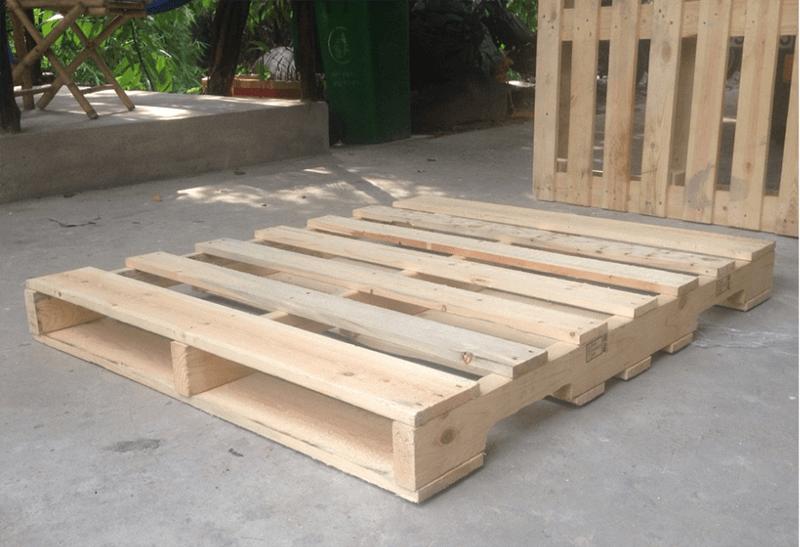 Hình ảnh sản phẩm gỗ pallet Đông Phú Tiên.