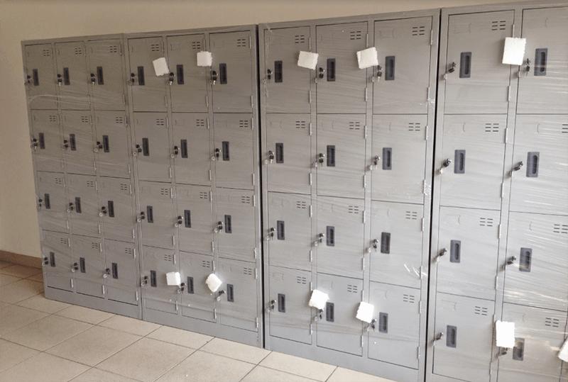 Tối ưu diện tích để tủ đồ và khóa cẩn thận
