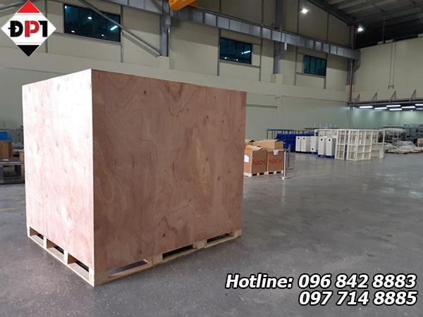 Dịch vụ đóng thùng gỗ tại Hải Dương
