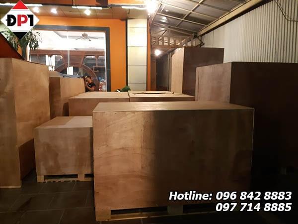 Dịch vụ đóng thùng gỗ tại Hải Phòng