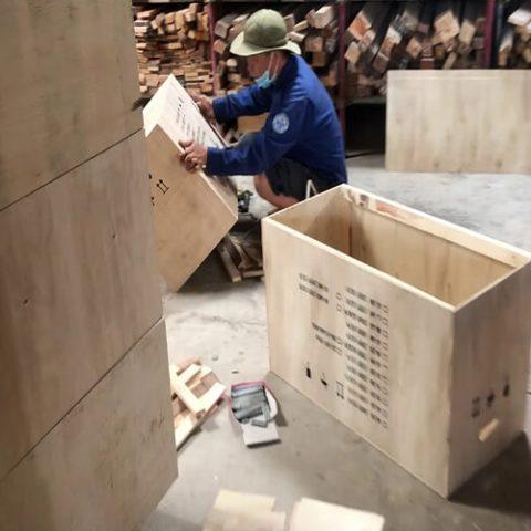 Dịch vụ đóng thùng gỗ tại Ninh Bình