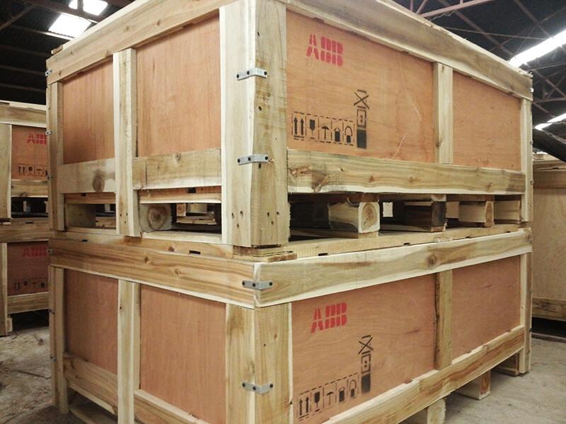 đóng thùng gỗ tại Hải Phòng