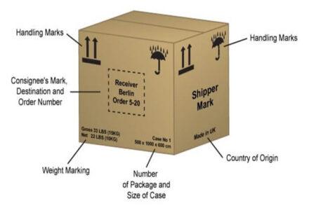 Shipping Mark là gì và có vai trò quan trọng ra sao