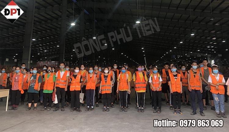 Đông Phú Tiên cho thuê lại lao động khắp các tỉnh miền Bắc