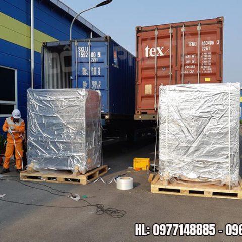 Dịch vụ di dời máy móc tại kho, xưởng, nhà máy chuyên nghiệp tại miền Bắc