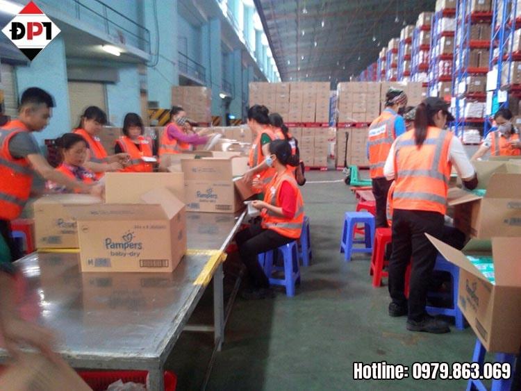 Đáp ứng lao động gia công cho các doanh nghiệp, tổ chức, cá nhân