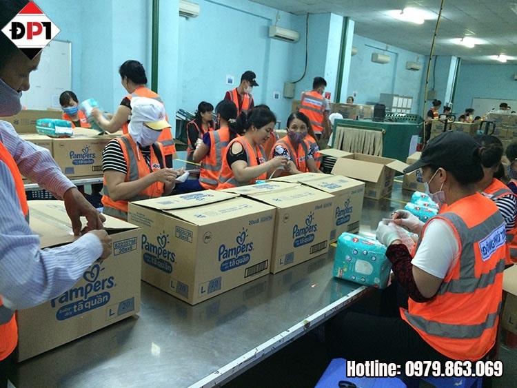 Dịch vụ gia công hàng hóa và sản xuất Chuyên Nghiệp